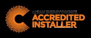Accredited solar system installer